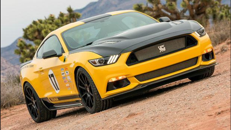 Ford Mustang Shelby Terlingua, gialla e con il pedigree