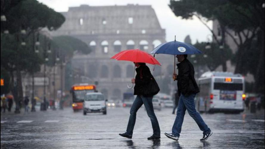 Blocco del traffico e targhe alterne, la situazione in tutt'Italia