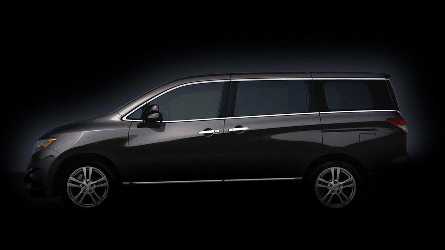 More 2011 Nissan Quest preview teaser photos released