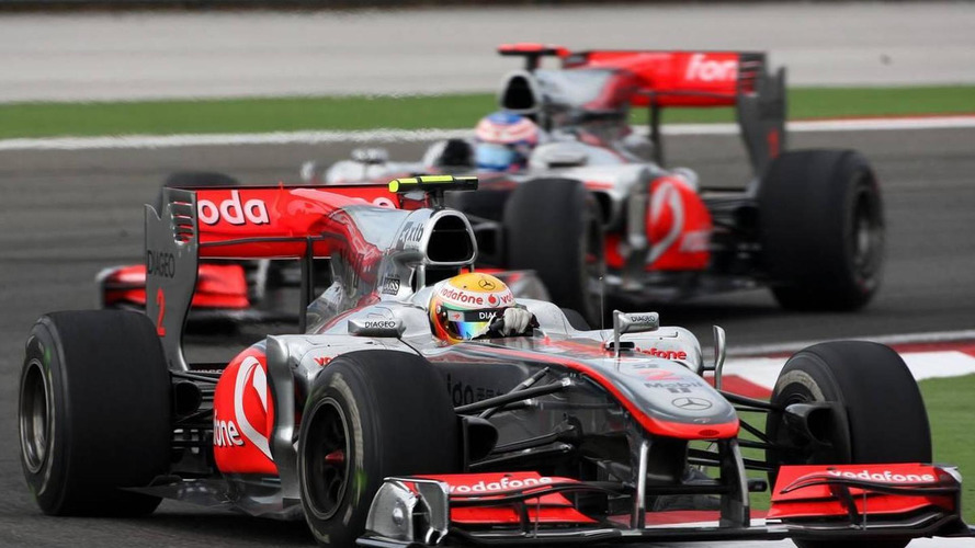 McLaren right to run cars light on fuel - Button