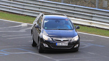 2011 Opel Astra Sports Tourer Spy Photos, Nurburgring Nordschleife, Germany, 28.04.2010