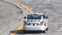 2012 Chevrolet Aveo sedan spy photos 10.20.2010