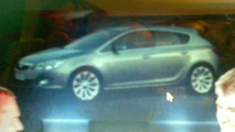 Opel Astra leaked photo from dealer presentation