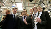 smart plant in Hambach, France selected as the location for the large-scale series production of the smart fortwo electric drive - announcement made on the occasion of the visit of French President Nicolas Sarkozy