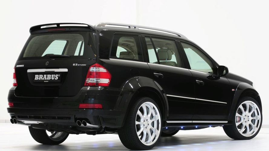 Brabus GL 63 Biturbo Pumps Out 650hp