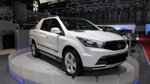 SsangYong SUT 1 Concept live in Geneva - 01.03.2011