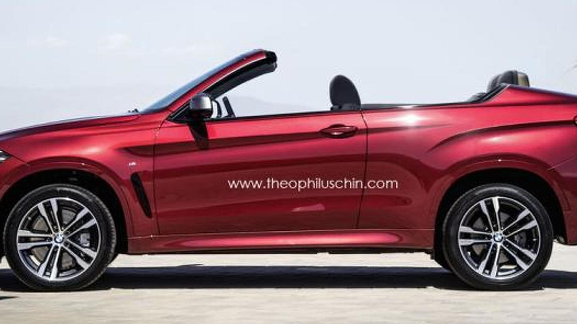 new bmw x6 rendered as a convertible suv. Black Bedroom Furniture Sets. Home Design Ideas