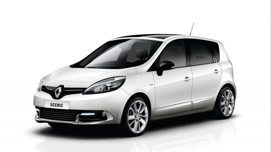Renault Megane & Scenic Limited introduced