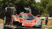 Mazda 767B crashed at Goodwood Festival of Speed
