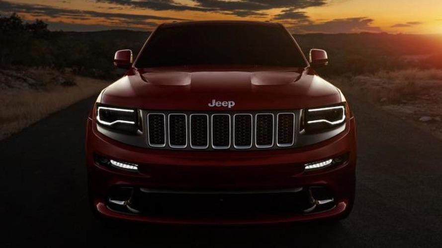 2014 Jeep Grand Cherokee SRT8 revealed