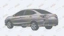 Honda Concept C production version leaked patent photo / auto.sohu.com