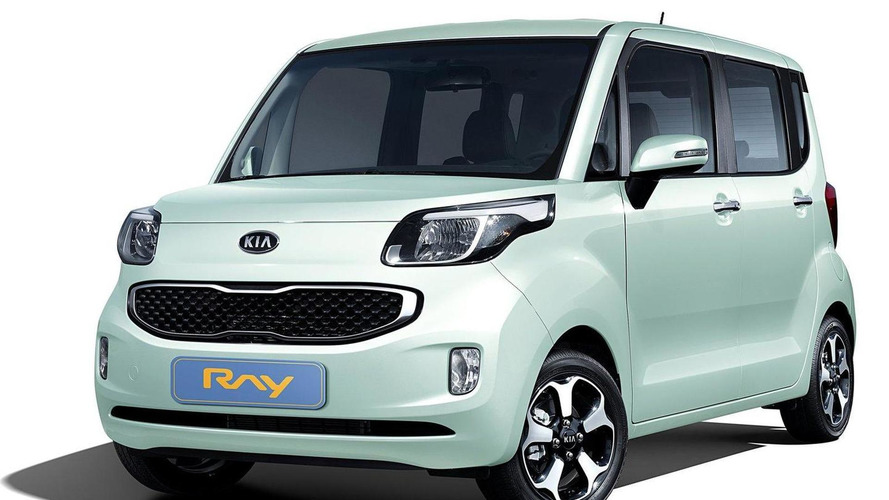 Kia Ray for Korean market unveiled