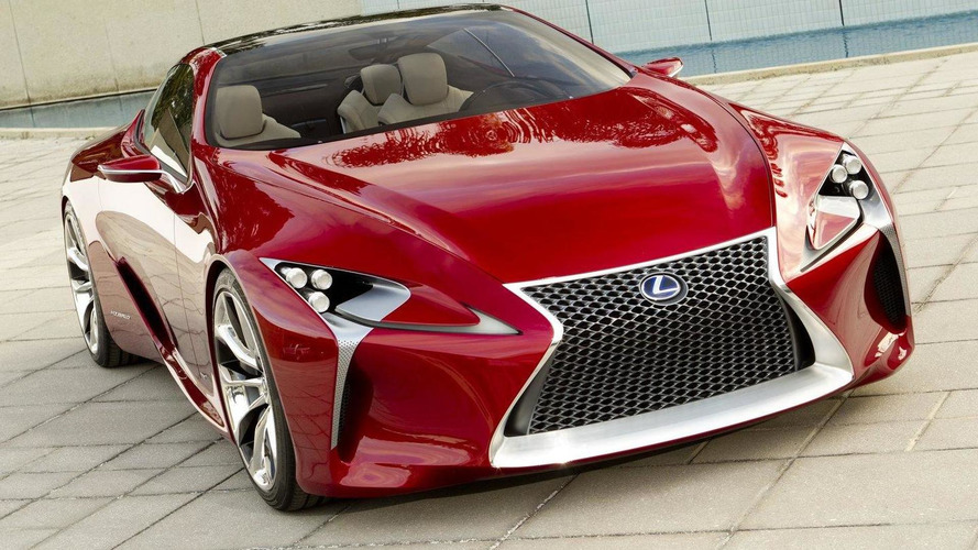 Lexus LF-LC concept - more pictures released