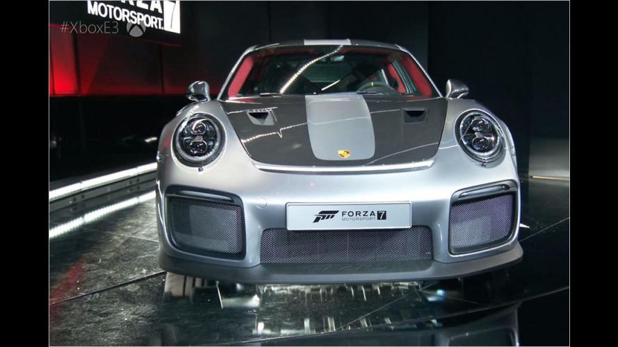 Porsche 911 GT2 RS: Der Video-Spieler