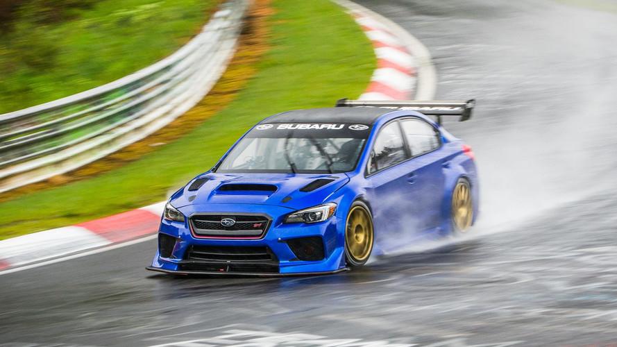 Subaru WRX STI Type RA au Nurburgring