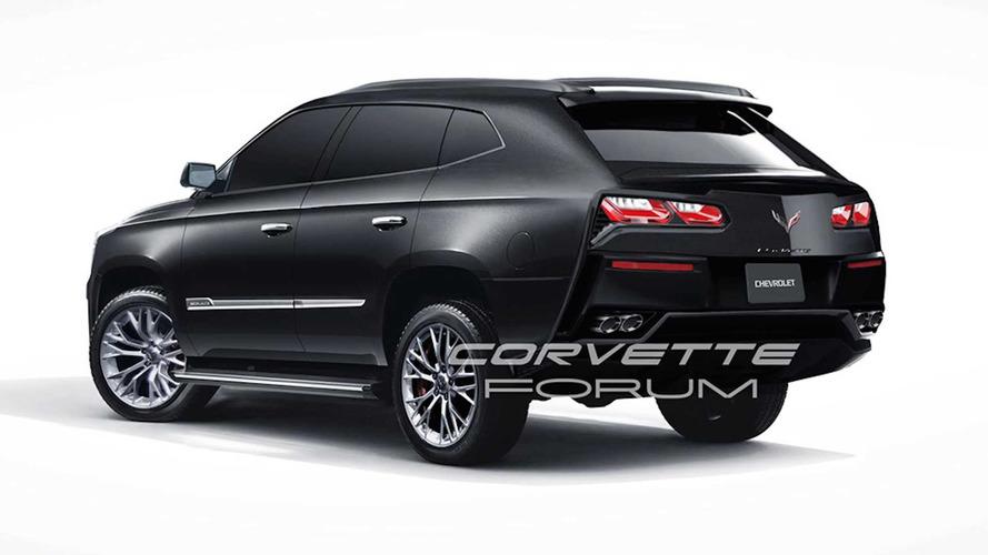 Render Corvette SUV