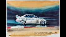 BMW Coffee Paintings