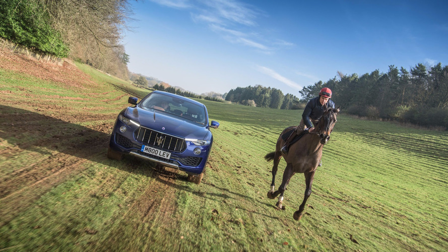"Maserati Levante Battles A Horse In ""Ultimate Challenge"" Video"