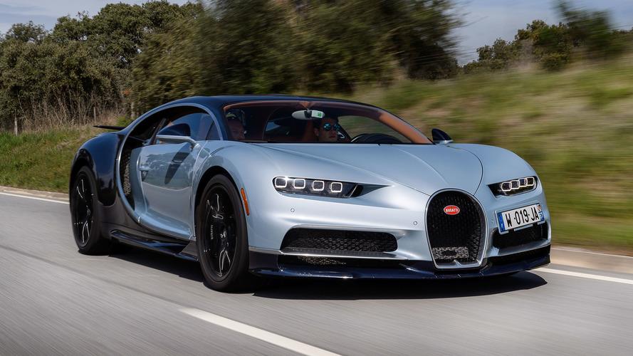 Bugatti Chiron 2017: así acelera de 0 a 300 km/h