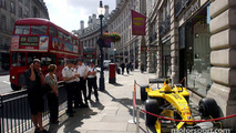 Jordan Ford EJ14 outside Austin Reed shop in Regent Street