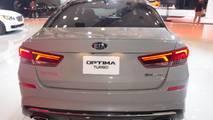 2019 Kia Optima at the 2018 New York Auto Show