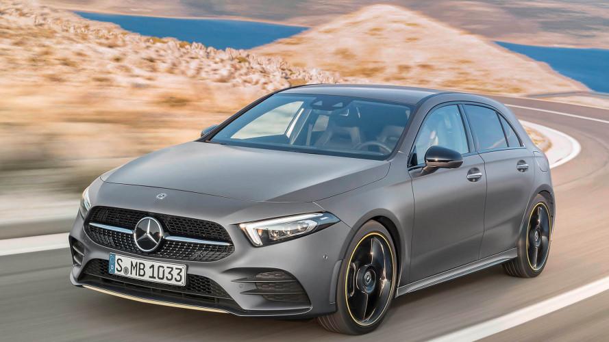 A nagyok technikáját kapja az új Mercedes A-osztály