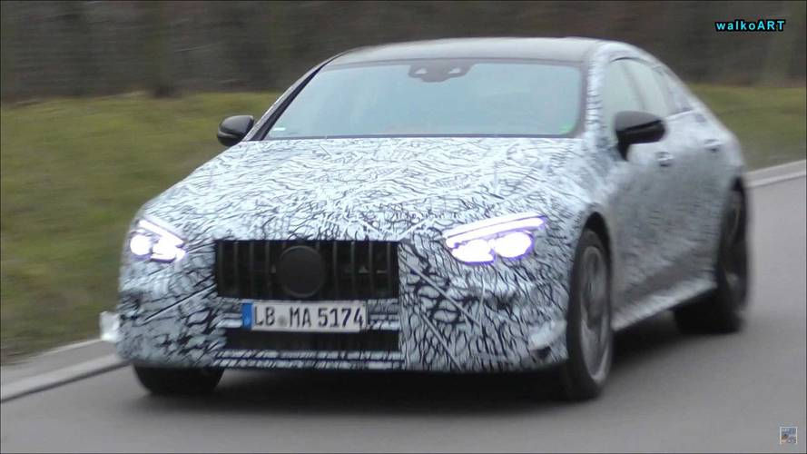 Mercedes-AMG GT Sedan Captured Cruising On Video