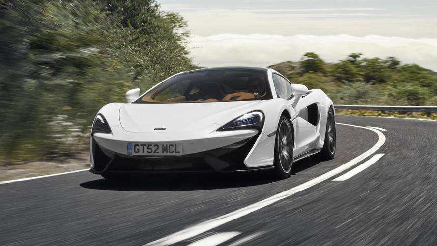 McLaren 570GT Sharpened Up With Optional Sport Pack