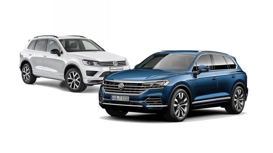 Eski vs. Yeni: 2019 Volkswagen Touareg
