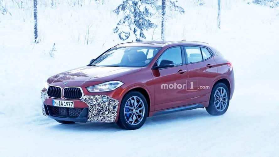 Flagra - BMW X2 está com a versão esportiva M35i quase pronta