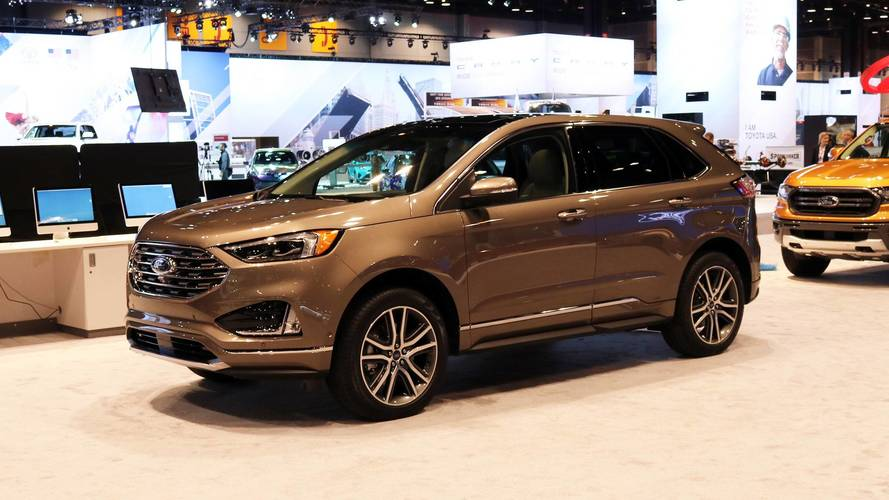 Ford Edge Titanium Elite Package Debuting In Chicago