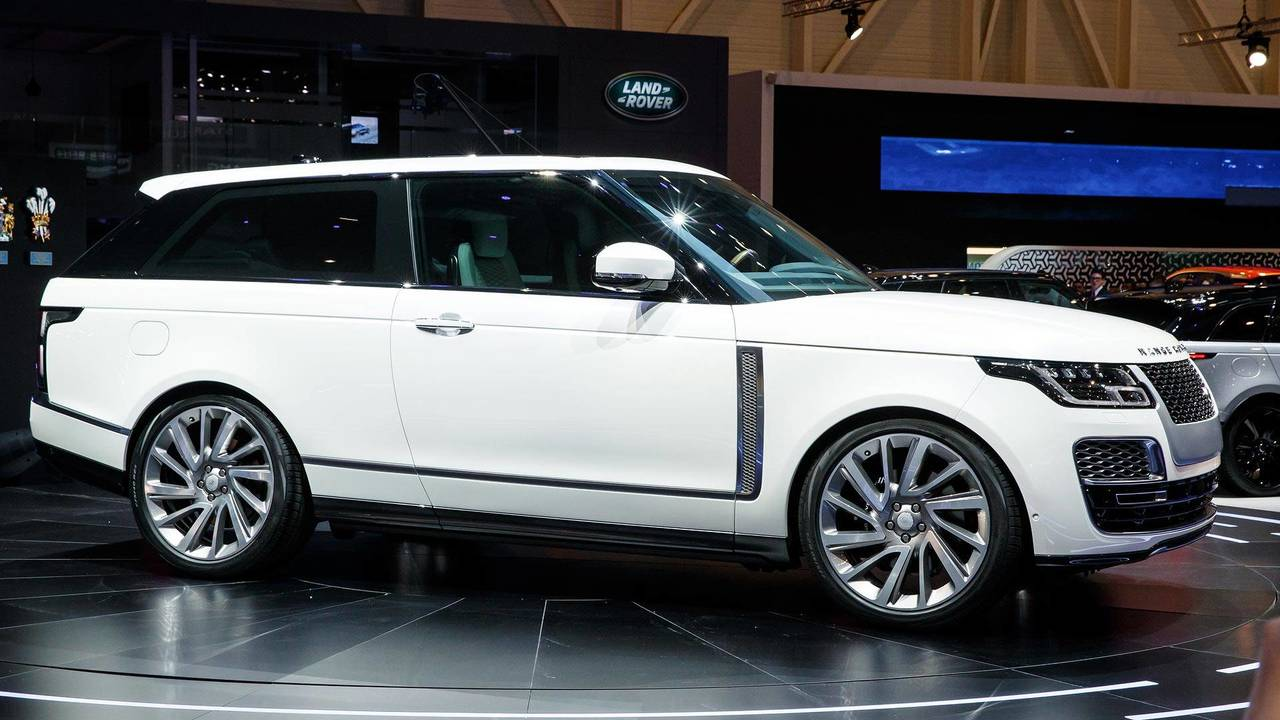 2019 land rover range rover sv coupe photos. Black Bedroom Furniture Sets. Home Design Ideas
