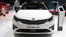 Kia Optima (Euro Spec) at the 2018 Geneva Motor Show