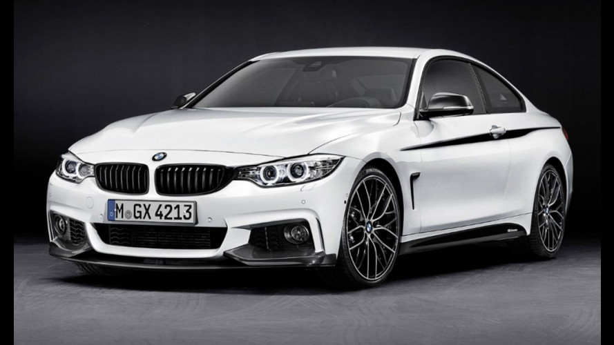 BMW Serie 4: gli accessori M Performance