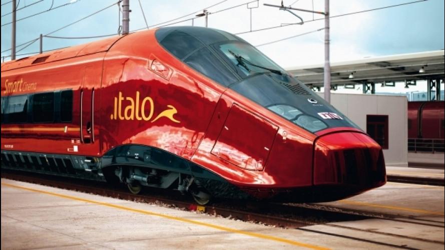 Trasporto pubblico, Ntv Italo: inaugurata la stazione di Roma Ostiense