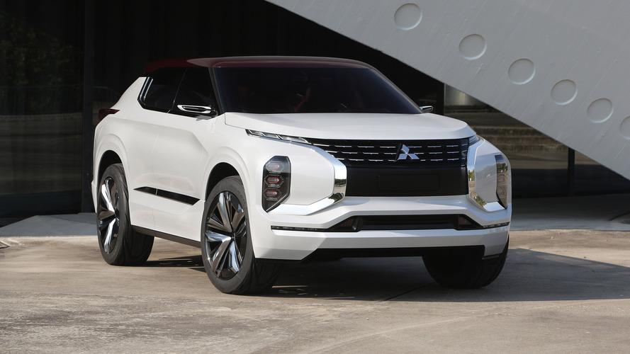 Mitsubishi GT-PHEV SUV coupe concept debuts in Paris