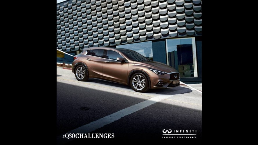 Infinity Q30, Kompakt Premium Sınıfı Karıştıracak