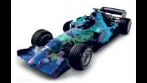 Honda RA107 Earth Car