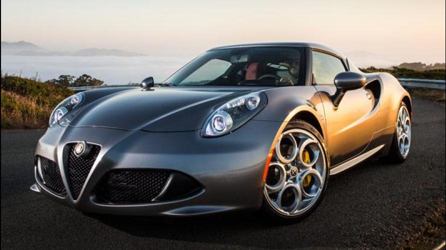 Alfa Romeo 4C: quella per gli americani è più bella