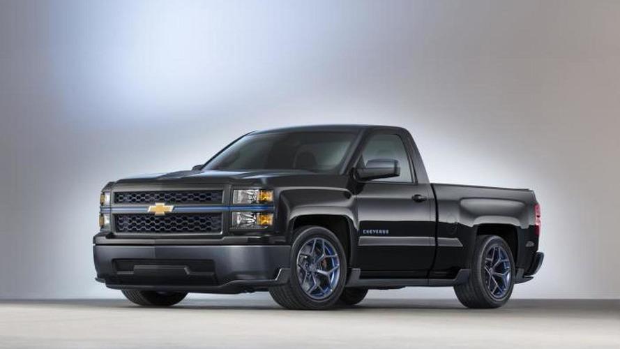 Chevrolet shows Silverado Cheyenne concept ahead of SEMA debut