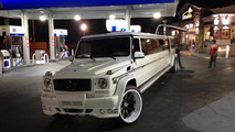Mercedes-Benz G55 AMG ruined by Platinum Style Limos