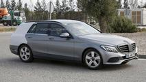 Mercedes C-Class Estate spy photo