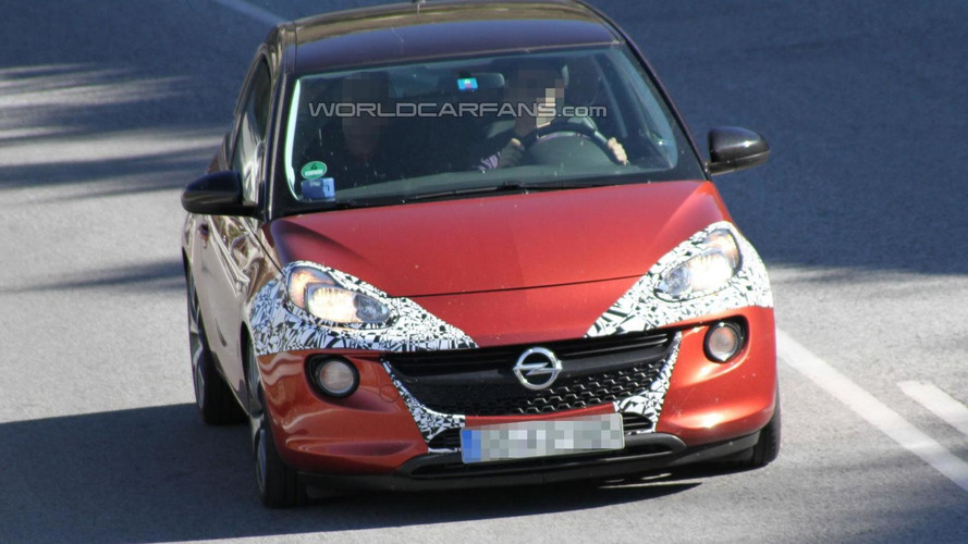 2014 Opel Adam spied with 1.0-liter SIDI Turbo engine