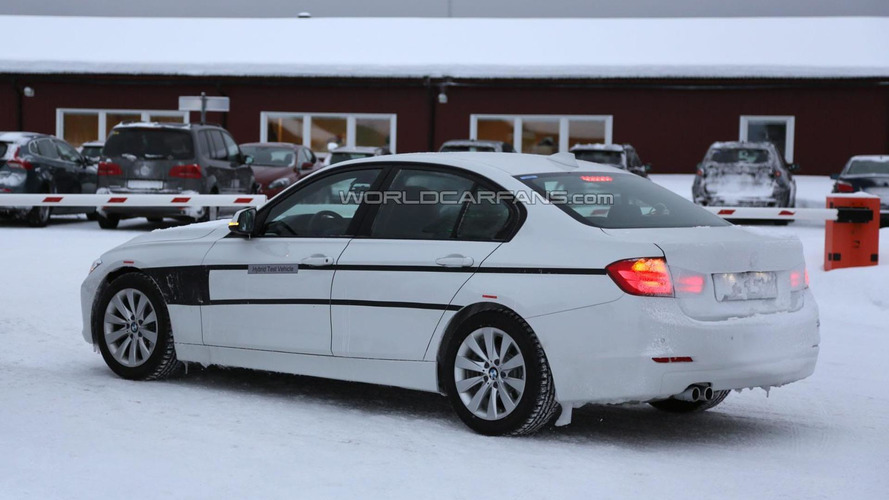 BMW 3-Series Plug-in Hybrid spied once again ahead of this year's launch