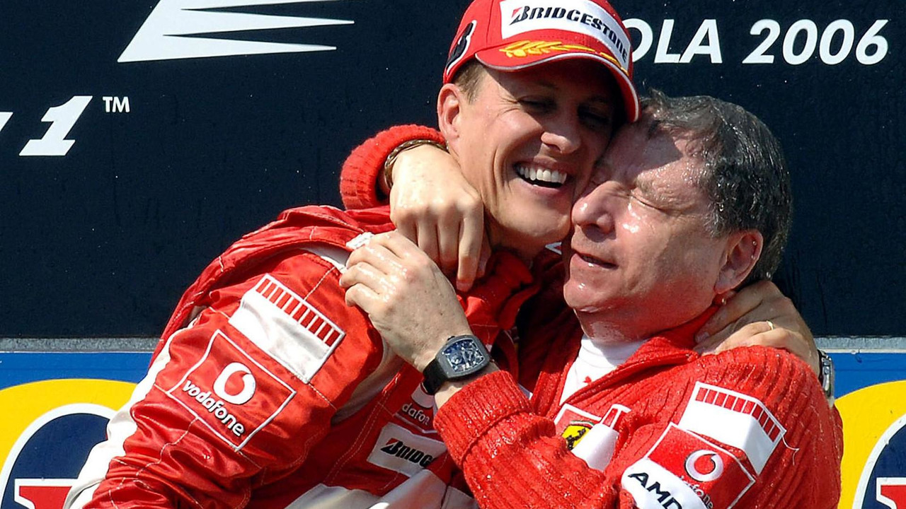 Michael Schumacher and Jean Todt 23.04.2006 San Marino Grand Prix