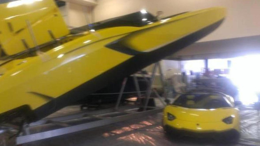 Lamborghini Aventador Roadster 50 Anniversario owner commissions a matching race boat