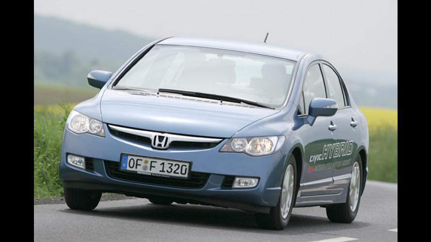 Fährt gut und spart dabei viel: Honda Civic Hybrid im Test