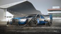 F1 yol otomobilleri render