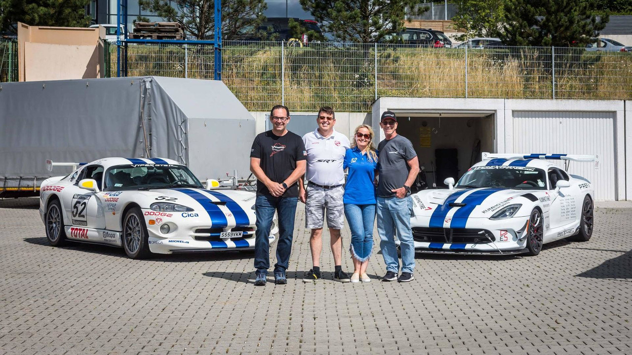 Dodge Viper ACR Nurburgring record attempt