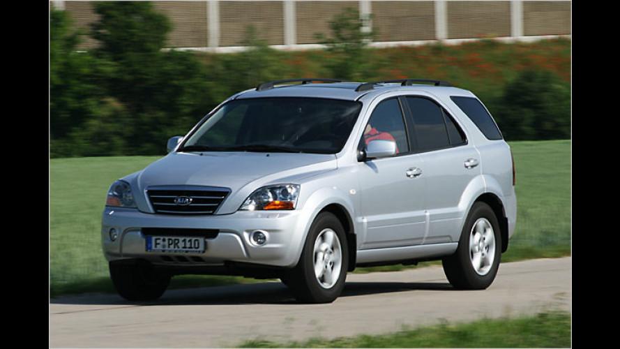Spielt vorne mit: Der Kia Sorento 3.3 V6 EX mit neuem Motor